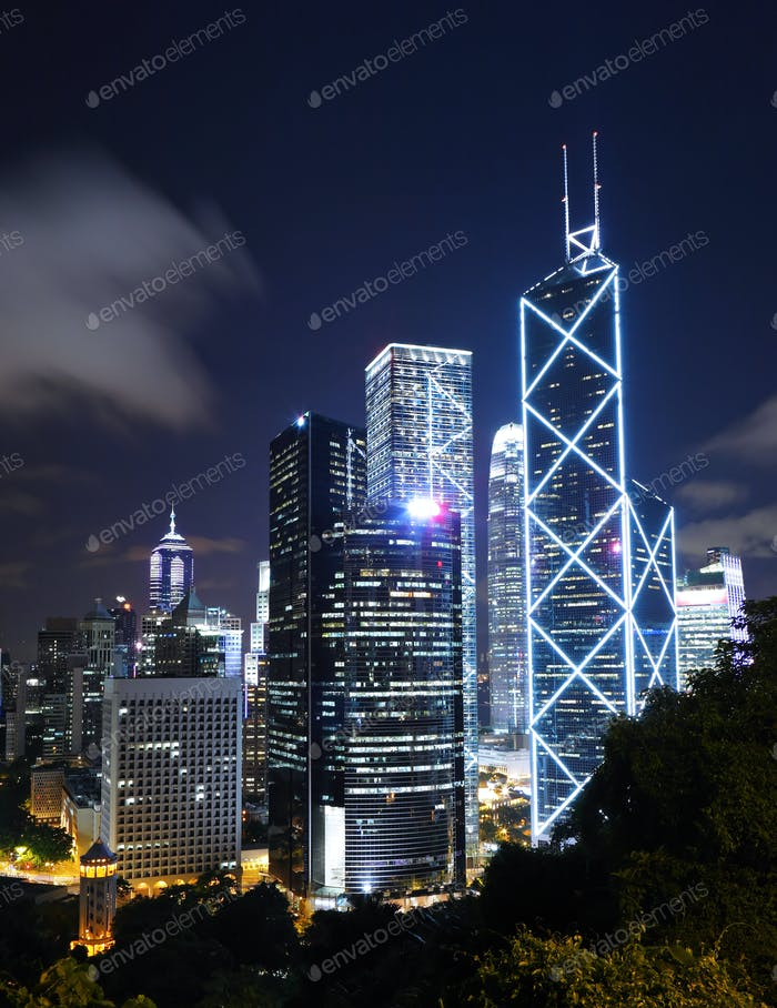 office building in hong kong
