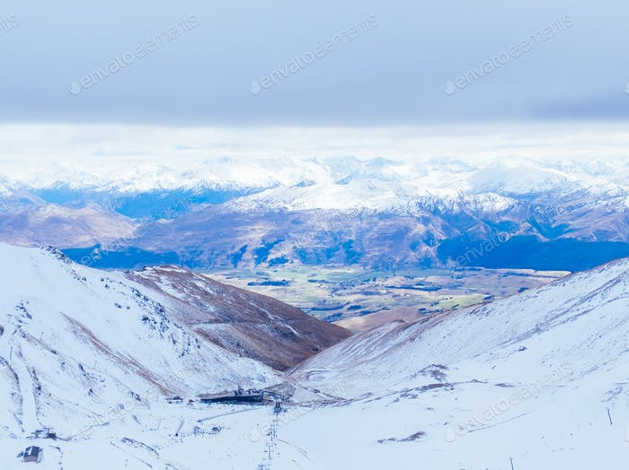 Bemerkenswerte Skigebiet