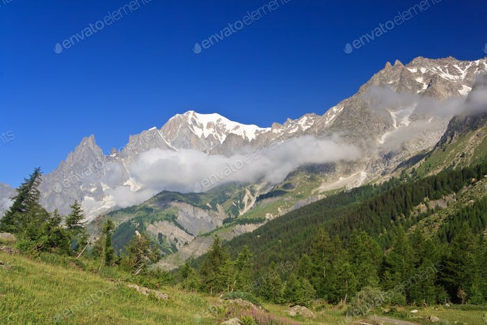 Ferret valley - Mont Blanc