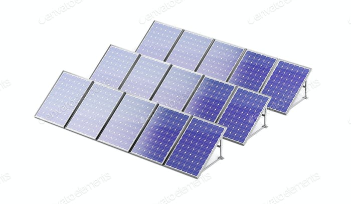 Group of solar panels
