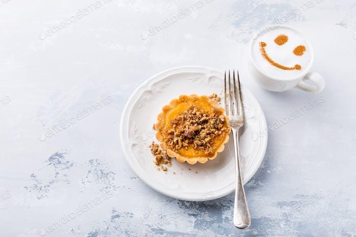 Pumpkin mini pie