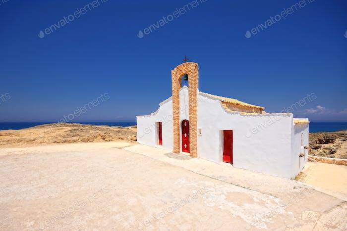 Church of Saint Nikolas beach