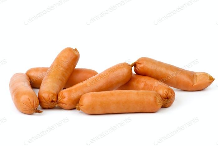 Few sausages