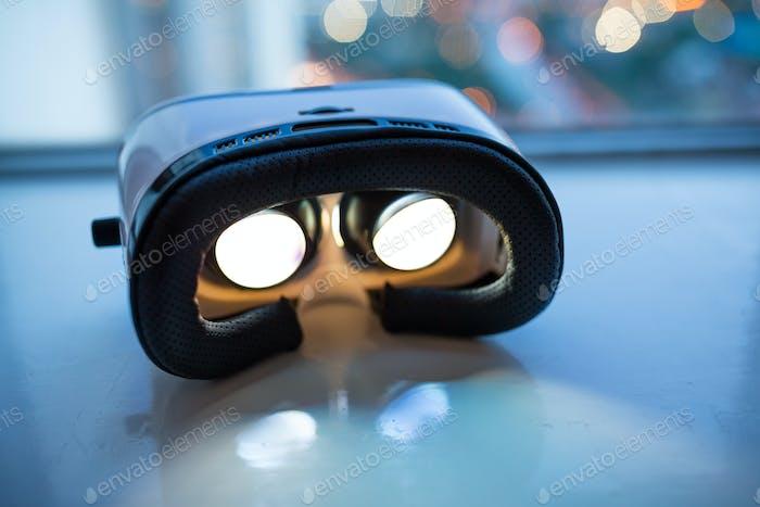 VR-Gerät im Innenbereich
