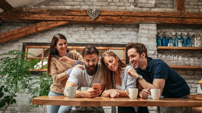 Technology keeps us connected to more friends