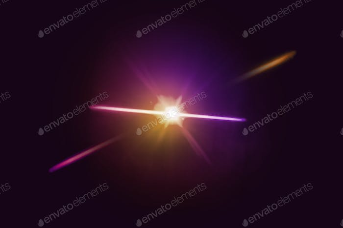 Abstract burry light black background