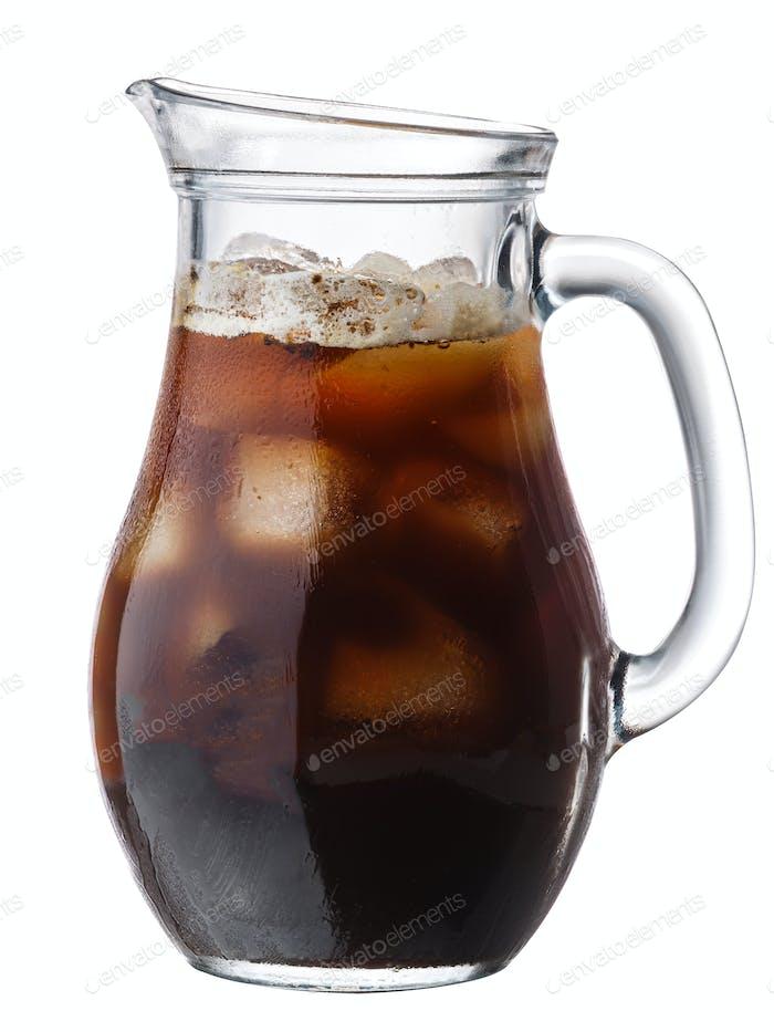 Eiskalter Gebräu Kaffee, Wege