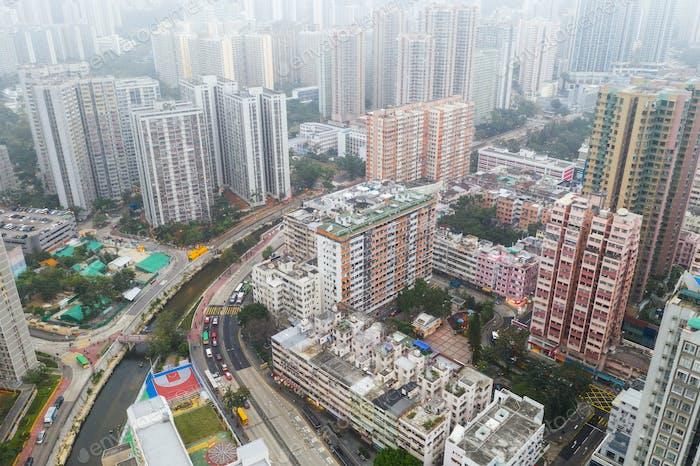 San Po Kong, Hong Kong 21 February 2019: Hong Kong city