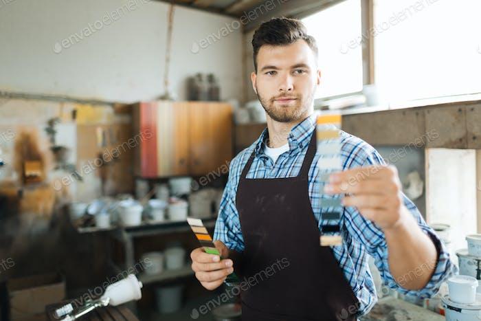Работавший ремесленник