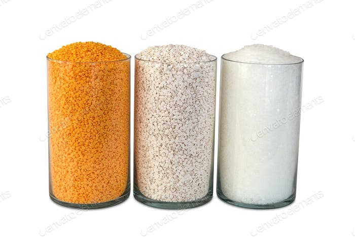 Plastic polypropylene beads, Industrial multi colour  granules
