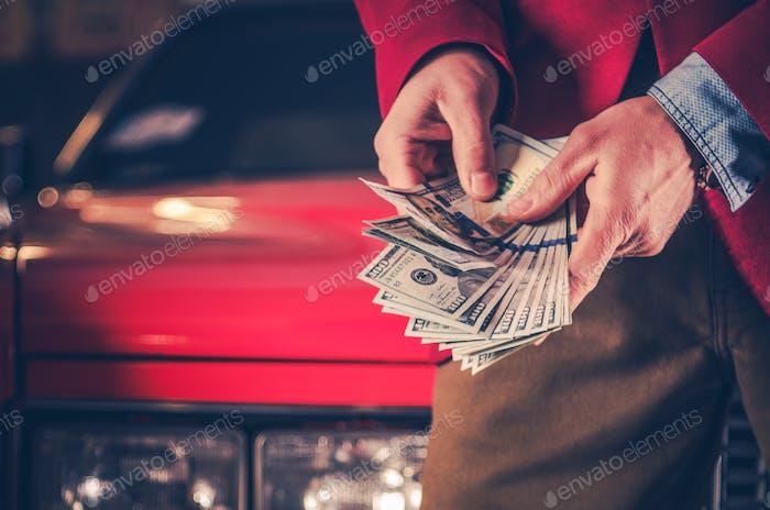 Bargeld für Ihr Auto