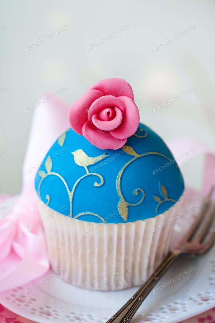 Gourmet-Cupcake