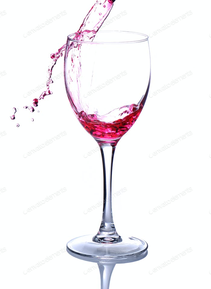 Gießen Wein