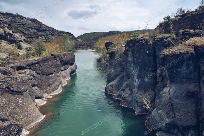 Horizontal fluvial
