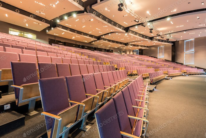 Lecture hall in academy