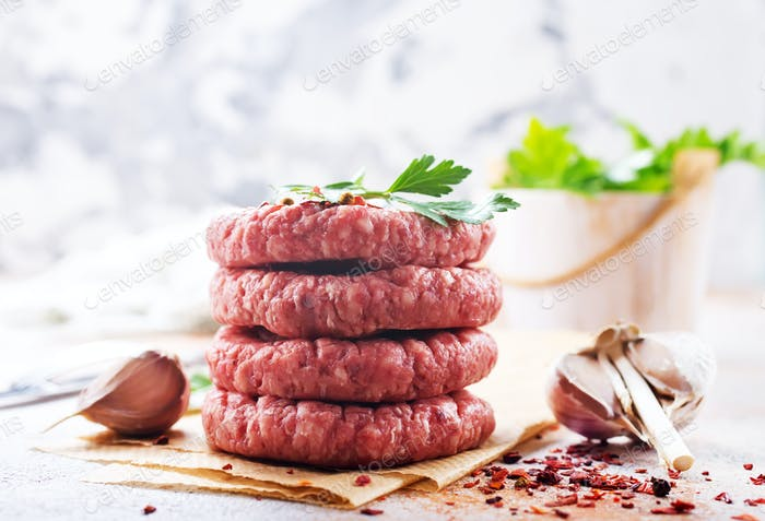 cutlets for burger