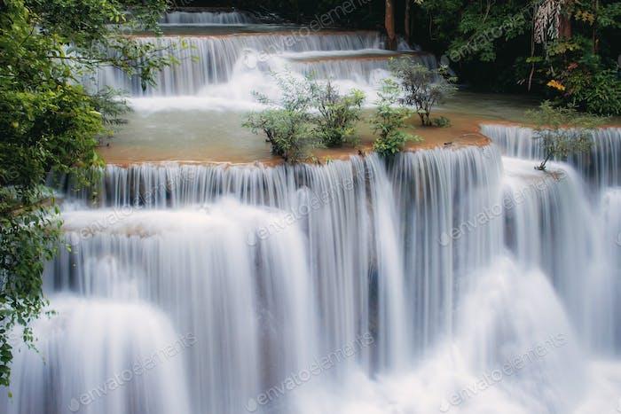 Waterfall with the beautiful