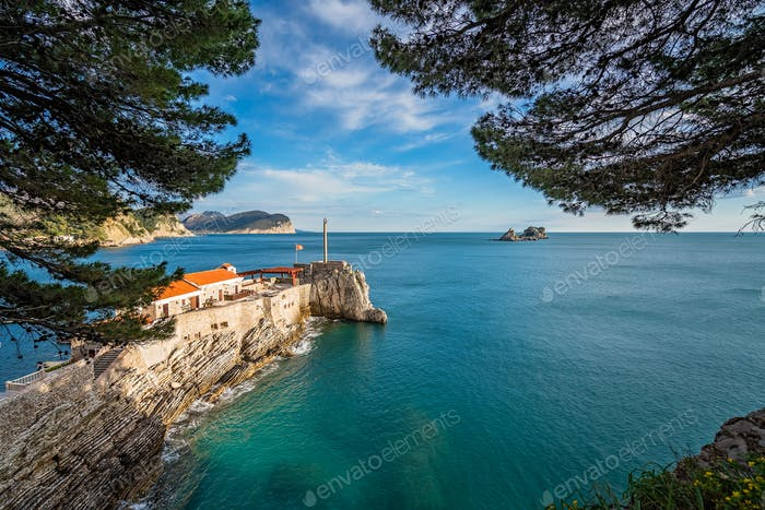Stunningly located old  medieval fortress in Petrovac