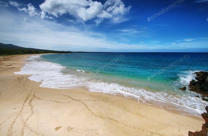 Makena Playa, en Maui, Hawai