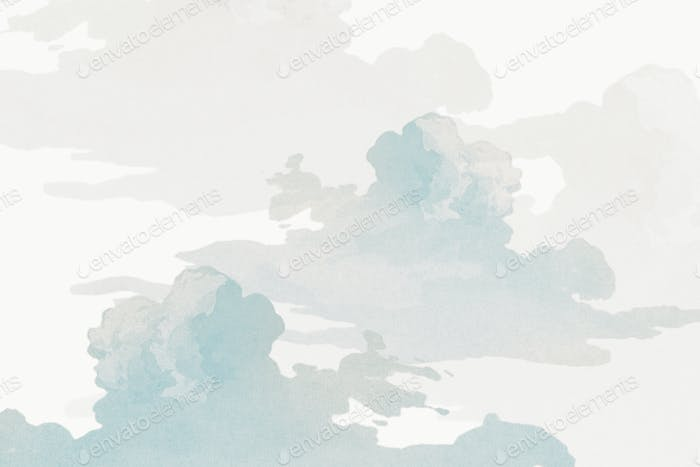 Gray cloudy sky background design resource