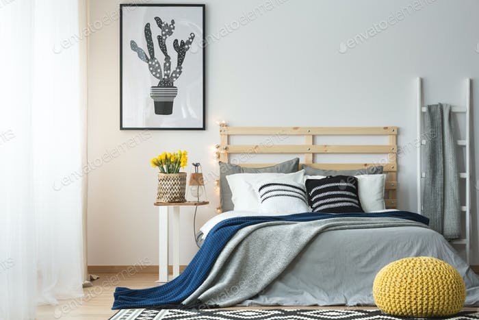Modern style of bedroom