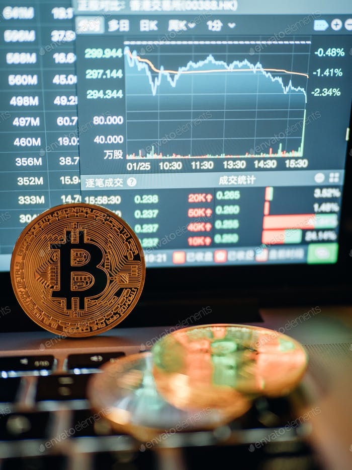 криптовалюты y el Concepto Negocios bolsa