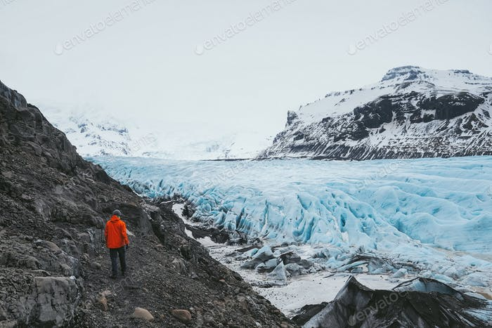 Glacial impact