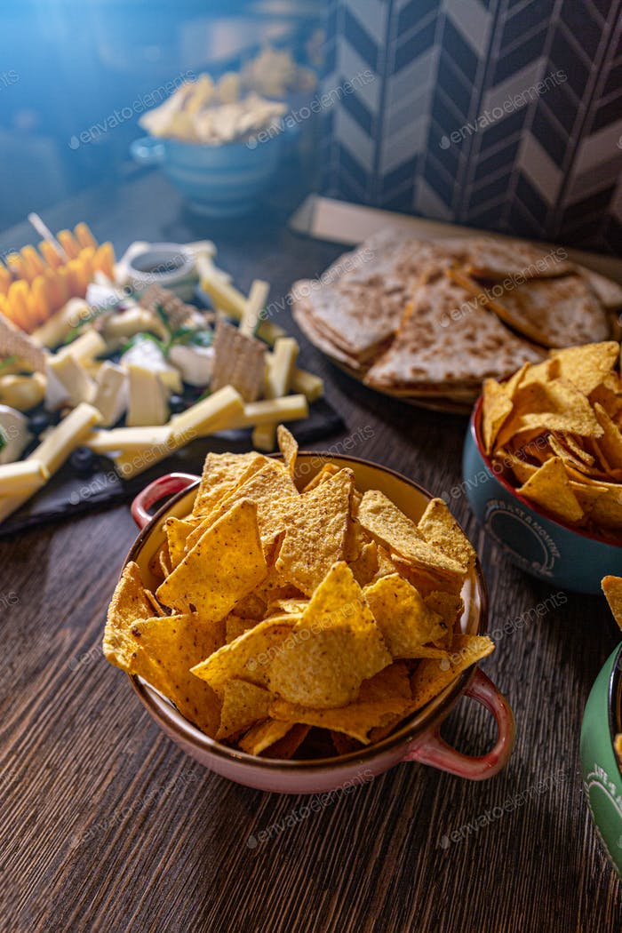 Savory snack party food
