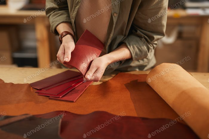 Choosing Leather Material For Craftwork