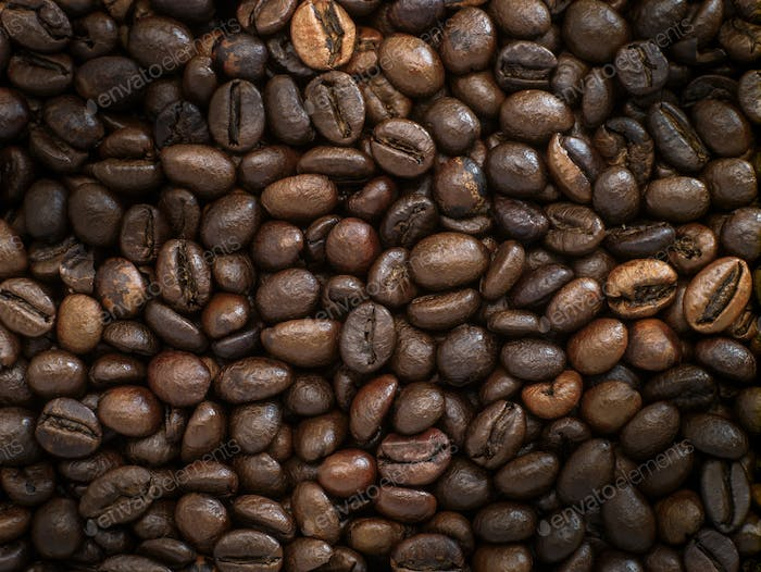 Coffee beans background image