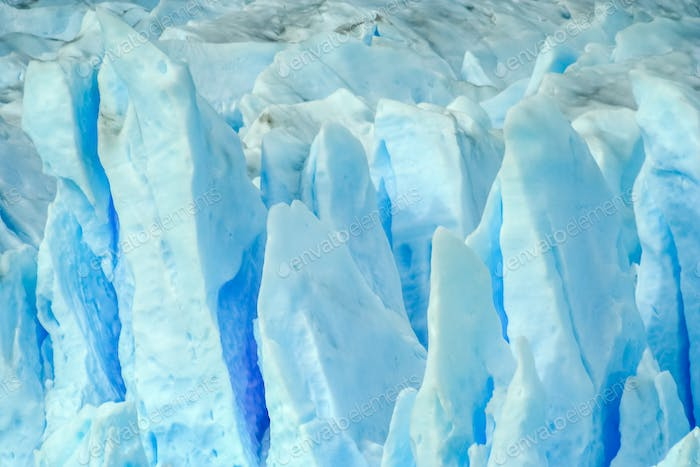 Perito Moreno Glacier close up