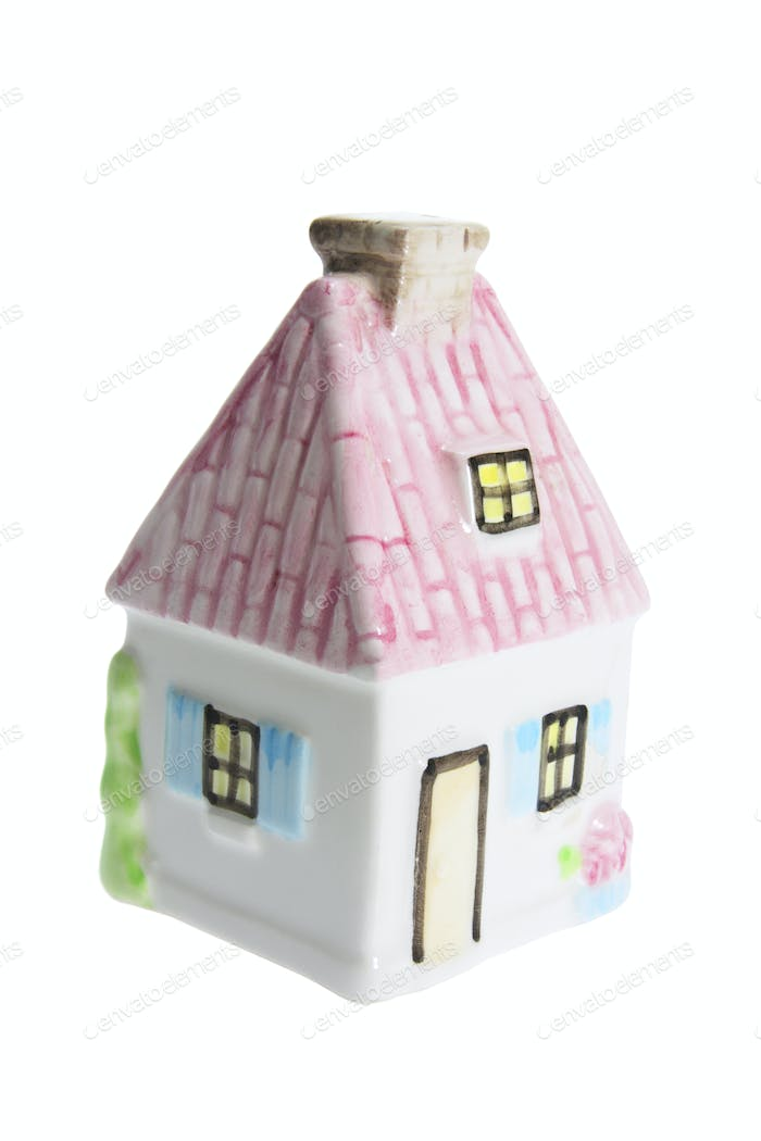Miniature House Figurine