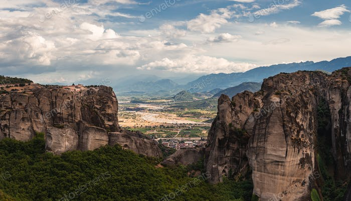 Monastery In Meteora Greece