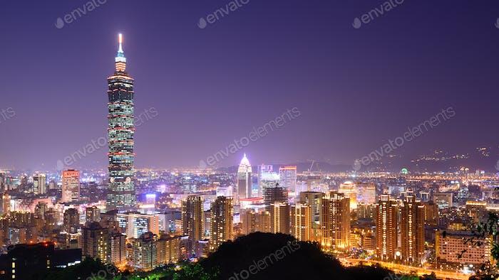 Skyline Taipeh