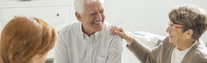 Fun at nursing home