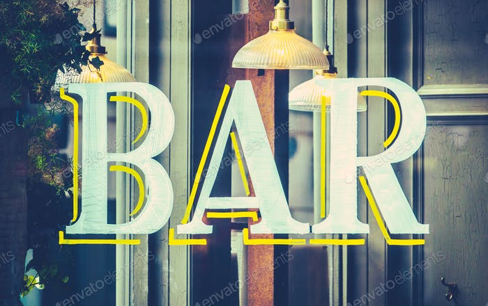 Urban Bar Sign