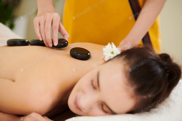Procedure of stone therapy