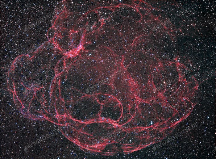 Supernova Remanent Simeis 147