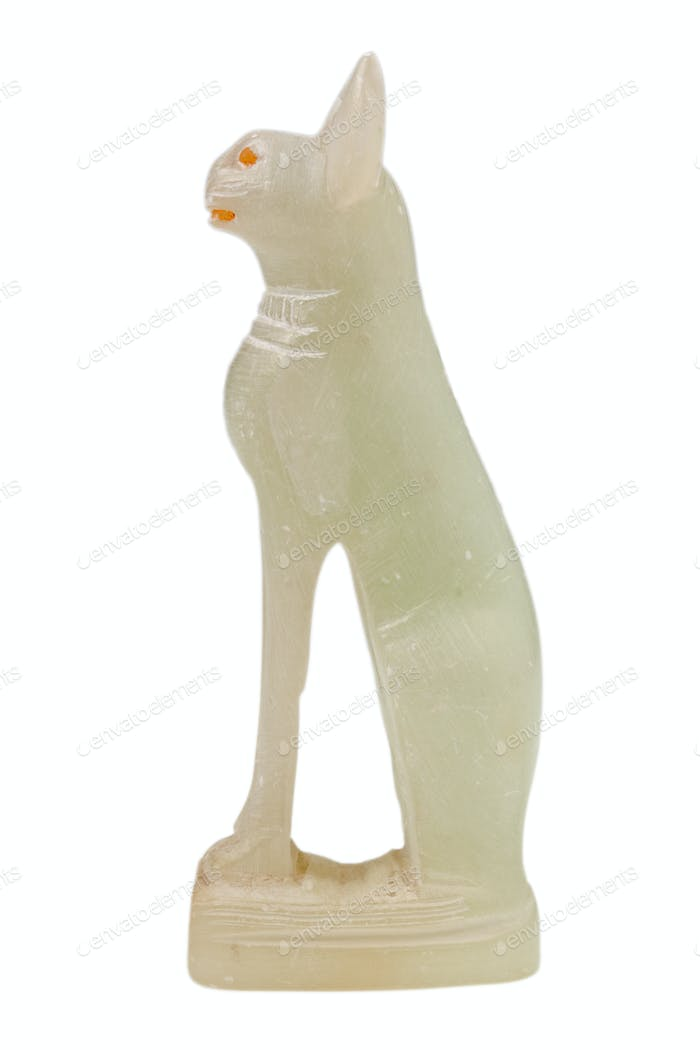 cat - asbestos Egyptian statuette