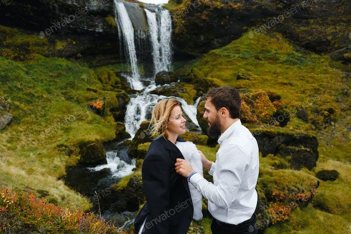 Nach der Hochzeit Romantik