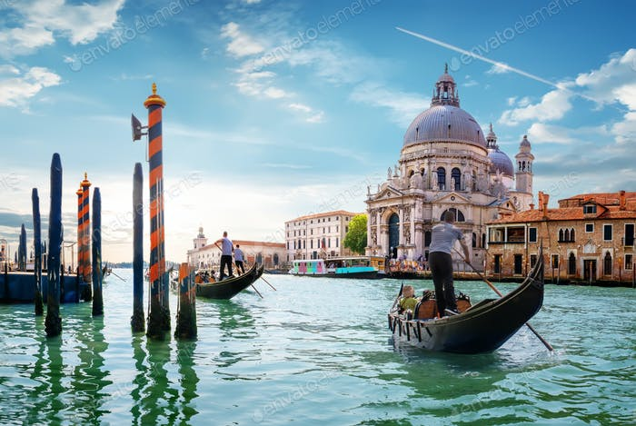 Gand Canal Venedig