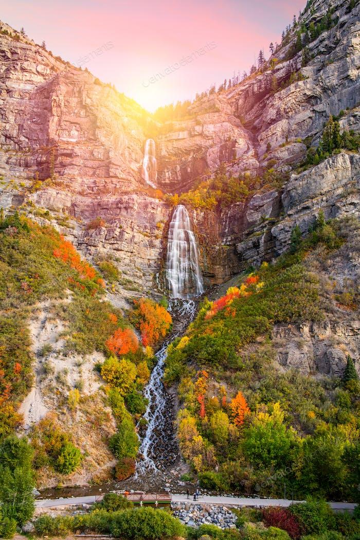 Bridal Veil Falls, Provo, Utah