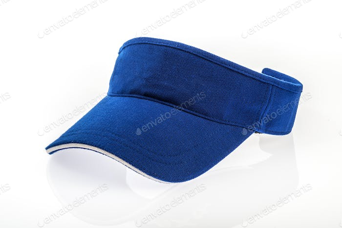 Golf blue visor