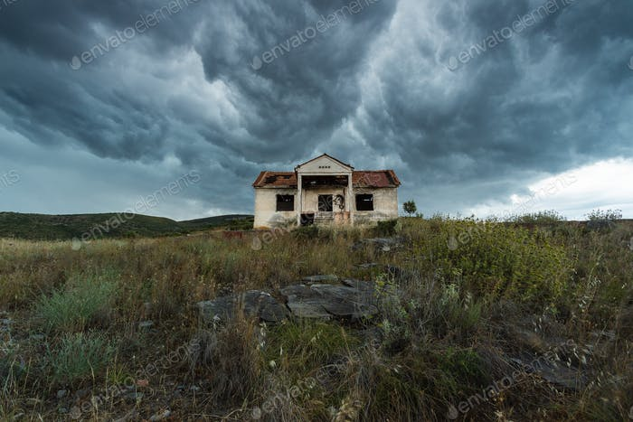 Abandoned House In The Hill
