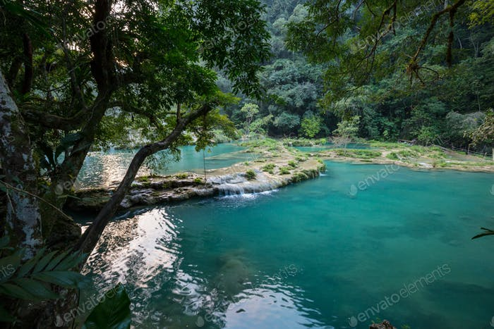 Pools in Guatemala