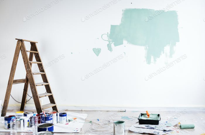 House renovation wall coloring