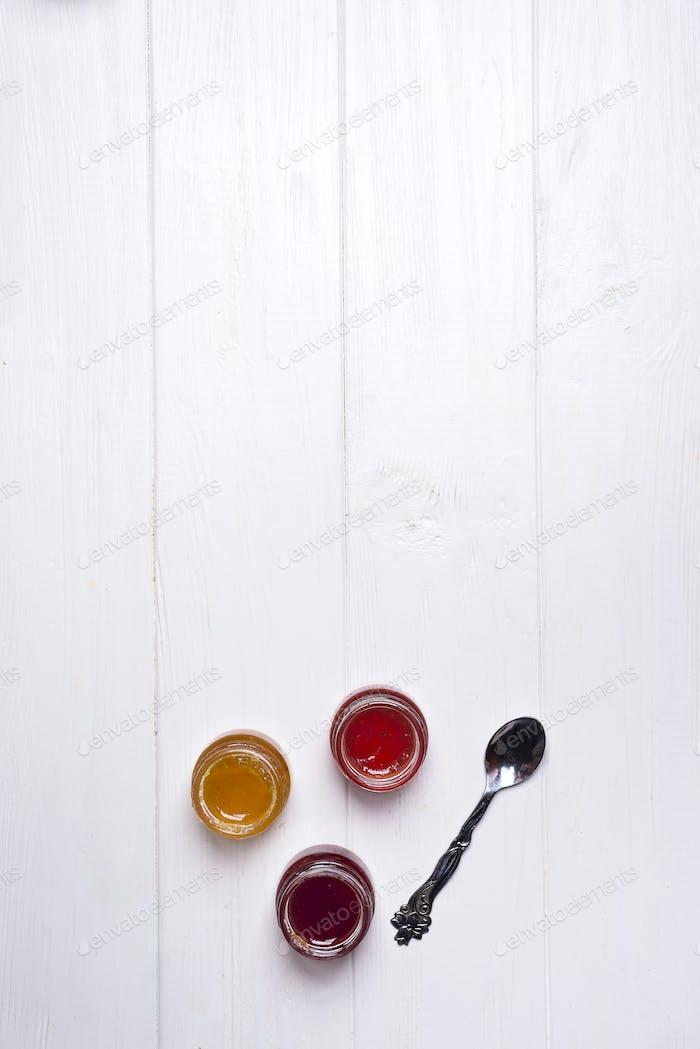 homemade jam making