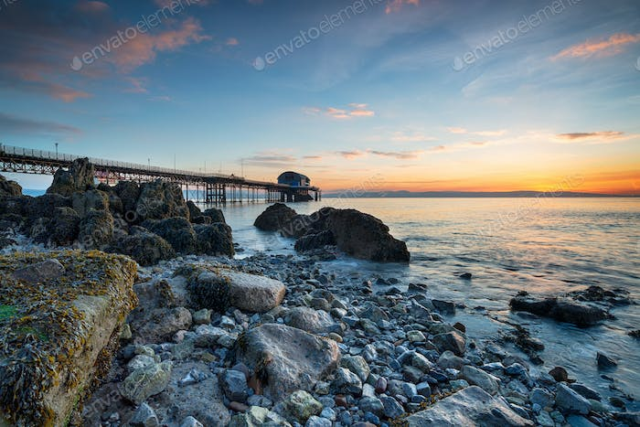 Mumbles Pier in Wales