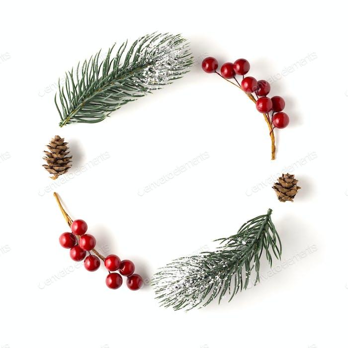 Christmas wreath.