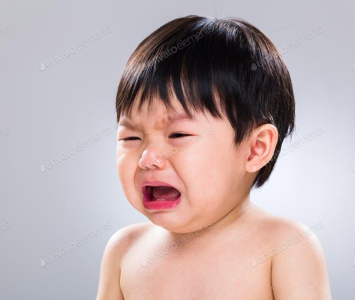 Baby boy cry
